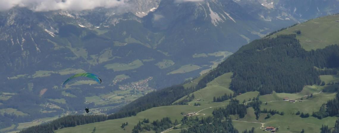 Alpspitzflieger Hohe Salve die Zweite