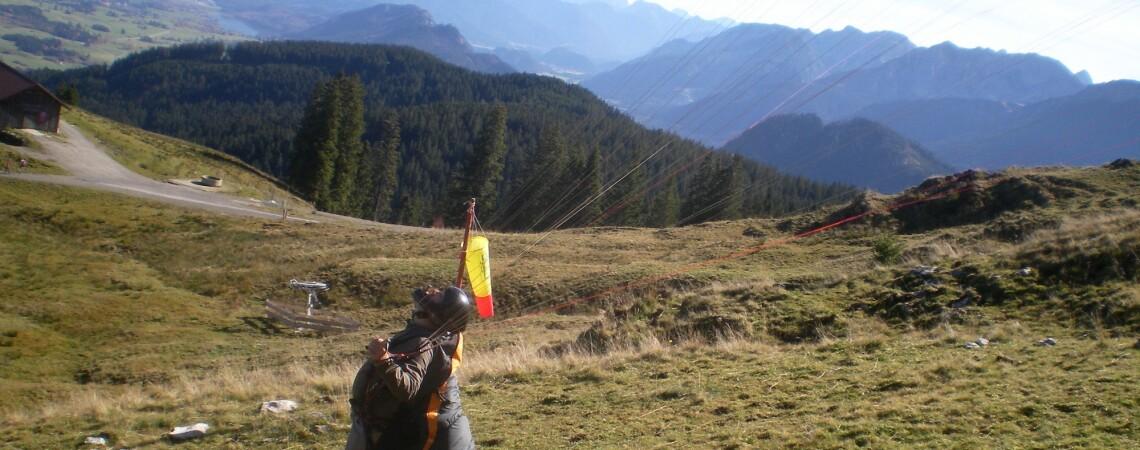 Die Alpspitzflieger trauern um Uli Dehe