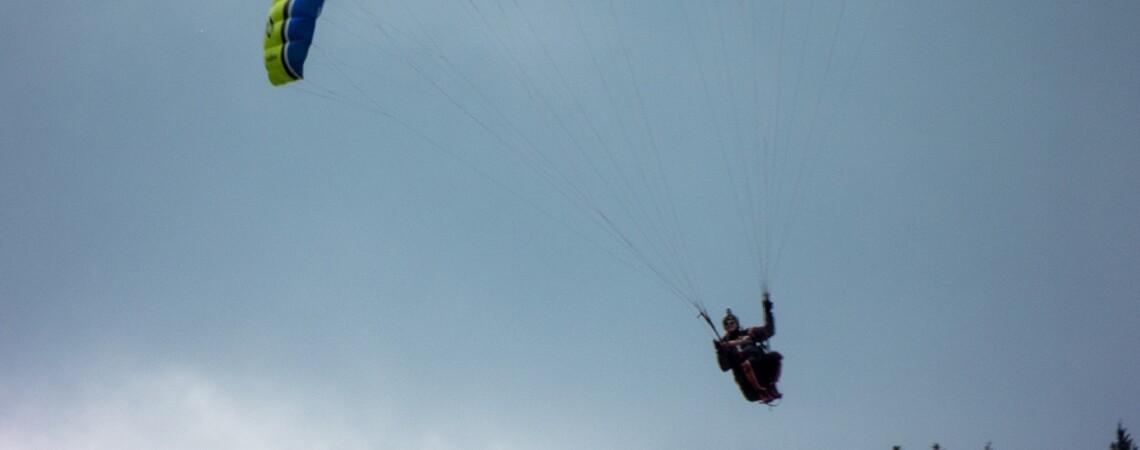 Alpspitzflieger am Alpspitz